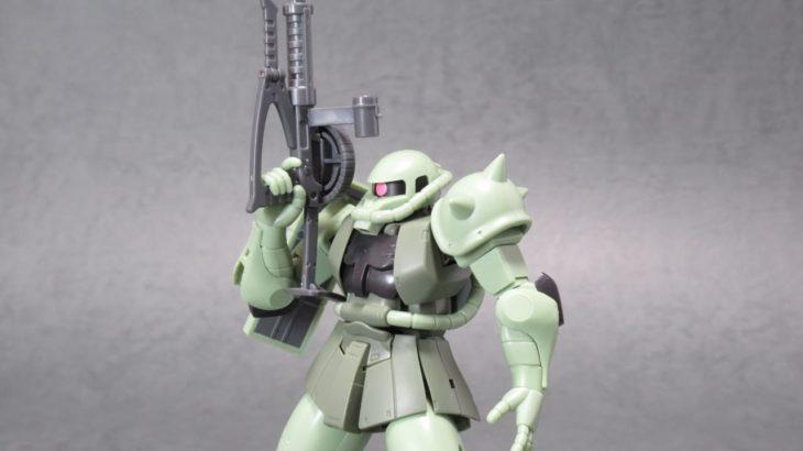 ROBOT魂 MS-06 量産型ザク ver. A.N.I.M.E. ~ファーストタッチ2500~ レビュー