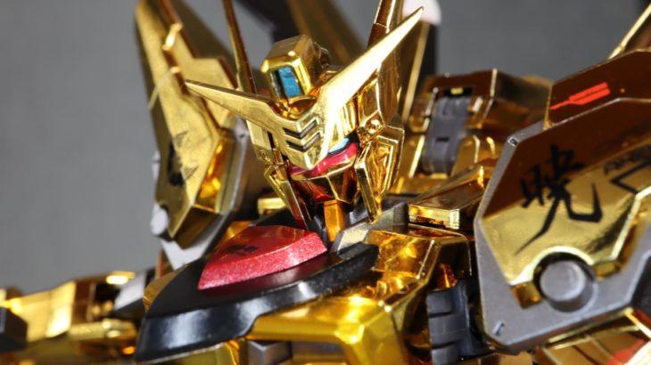 METAL ROBOT魂 アカツキガンダム(オオワシ装備) レビュー