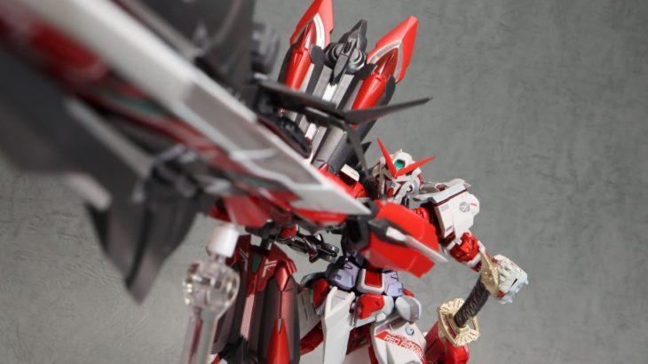 METAL BUILD ガンダムアストレイ レッドフレーム改(オルタナティブストライク ver.) レビュー