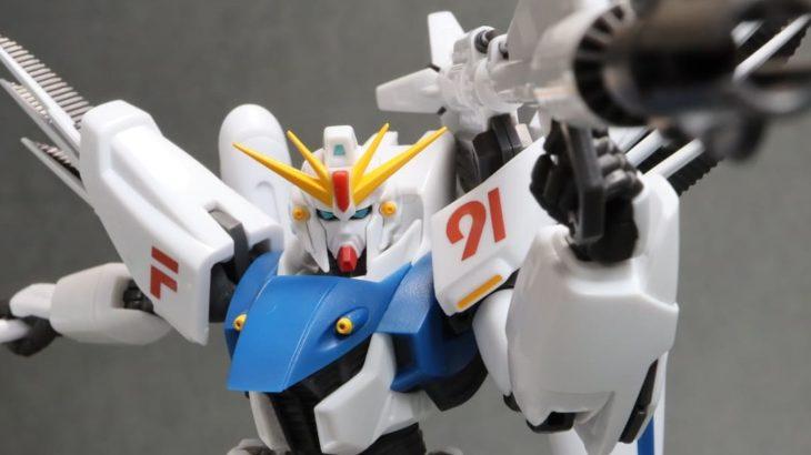 ROBOT魂 ガンダムF91 EVOLUTION-SPEC レビュー
