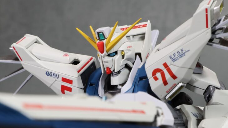 METAL BUILD ガンダムF91 CHRONICLE WHITE Ver. F91 レビュー