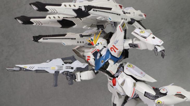 METAL BUILD ガンダムF91 CHRONICLE WHITE Ver. パワード・ウェポン/ツイン・ヴェスバー レビュー